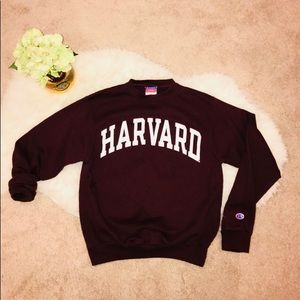 Vintage Champion HARVARD Crew Neck Sweater